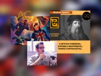 """LDZ ESCOLA DE ARTES VISUAIS: Confira a Programação da semana: #DESAFIOLDZ o tema """"E Se…?"""" (Marvel) e sábado a live com Pacha Urbano"""