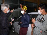 'Profissão Repórter' acompanha a maior manifestação indígena do país desde os anos 1980