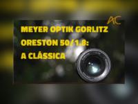 Analógico Lógico: Meyer Optik Gorlitz Oreston 50mm f/1.8. Uma lente fabulosa para retratos femininos e flores