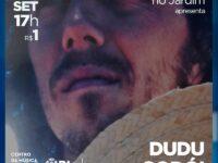 Dudu Godoi : Cantor se apresenta nesse sábado (04/09) Centro da Música Carioca Artur da Távola em show especial