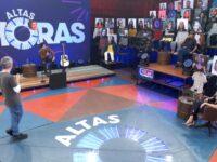Luan Santana, Dani Calabresa, Tom Cavalcante, Caio Ribeiro e Hebert Conceição estão no 'Altas Horas' deste sábado