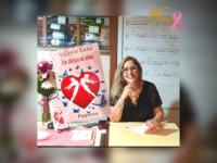 UM ABRAÇO NA ALMA: Escritora VALÉRIA LEÃO lança seu terceiro livro compartilhando sua experiência e colaborando na campanha Outubro Rosa com a divulgação da importância da prevenção ao câncer