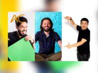 Humor em dose tripla no RJ: Emerson Ceará, Diogo Almeida e Nando Viana no palco do Imperator – Centro Cultural João Nogueira, no Méier