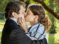 Nos Tempos do Imperador – Isabel e Gastão se beijam pela primeira vez